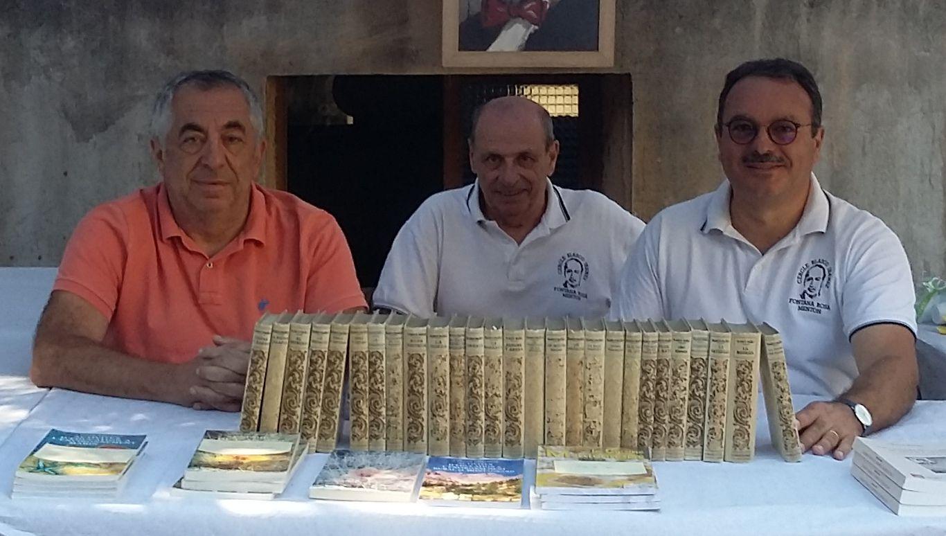 Don de feu monsieur ROCA d'une collection de 27 romans de Vicente Blasco Ibàñez
