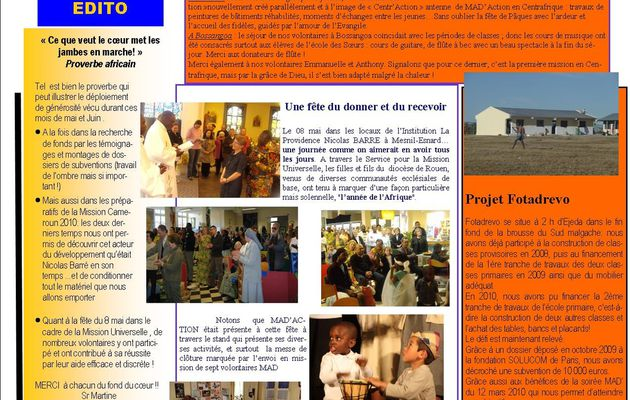 Archives des Newsletters