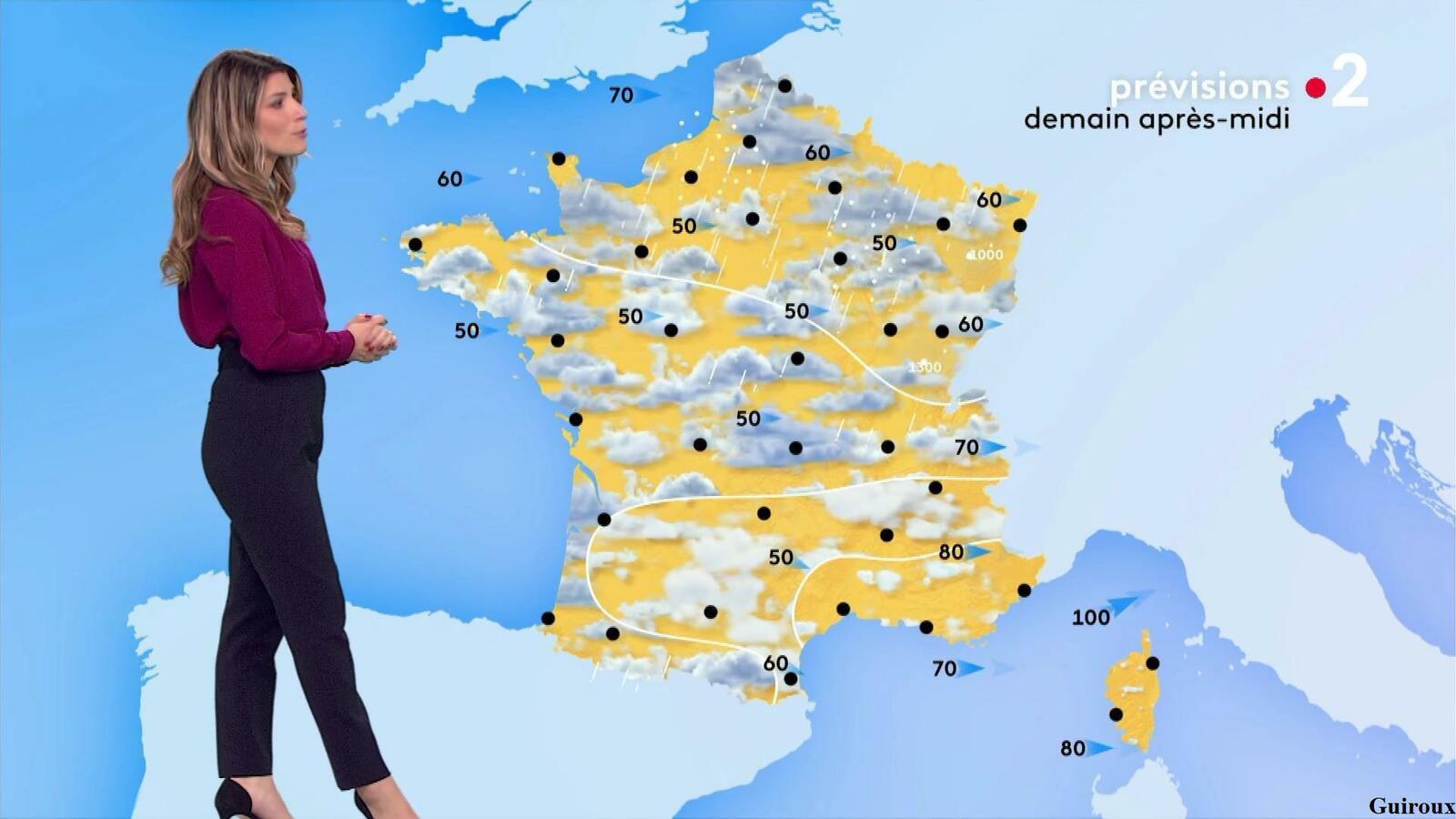 Chloé Nabédian 04/05/2021 Journaux météo du midi