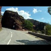 Goldwing Unsersbande - Route gorges de Daluis retour 2