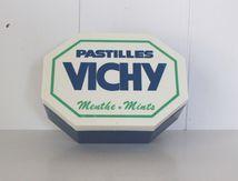 Boite en plastique Pastilles Vichy 1991