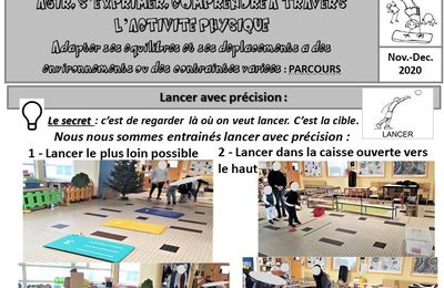 Lancer, danser n°1 et jeux collectifs n°1, MS, P.2