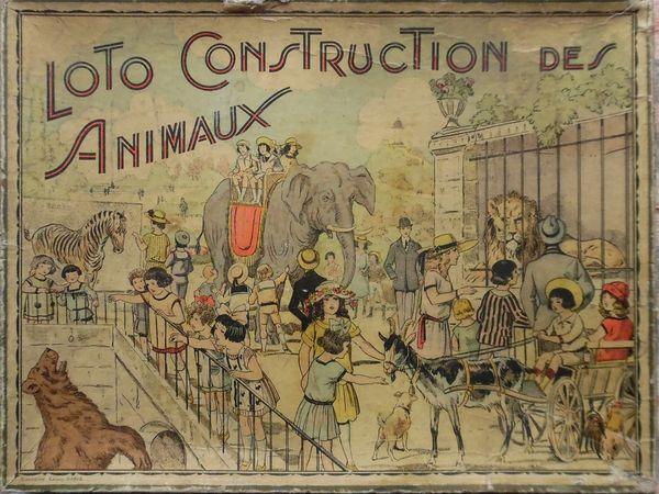 loto CONSTRUCTION des ANIMAUX de SAUSSINE