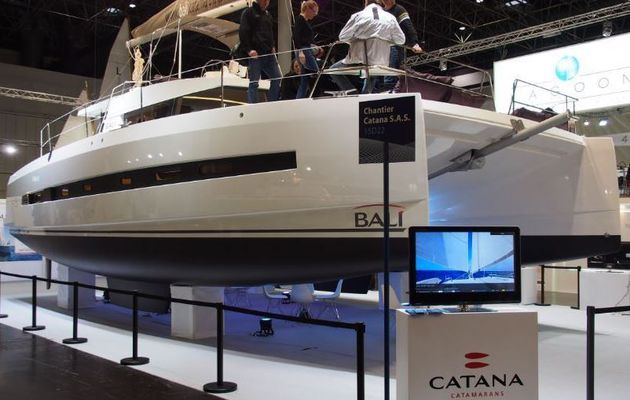 Boot 2015 - forte augmentation du chiffre d'affaires du chantier Catana Group