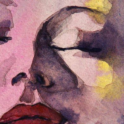 Aquarelle Isabelle Seruch Capouillez Artiste Peintre