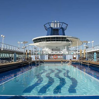 Pullmantur Sovereign   Cafe San Marco Deck 5
