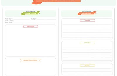 How to plan a perfect party - tips, ideas and checklist