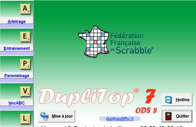 Duplitop 7 - ODS 8 est disponible