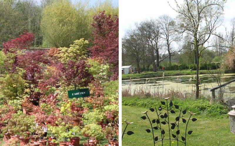 Jeu concours express 3x2 entrées à gagner pour la fête des plantes des Jardins d'Aywiers.