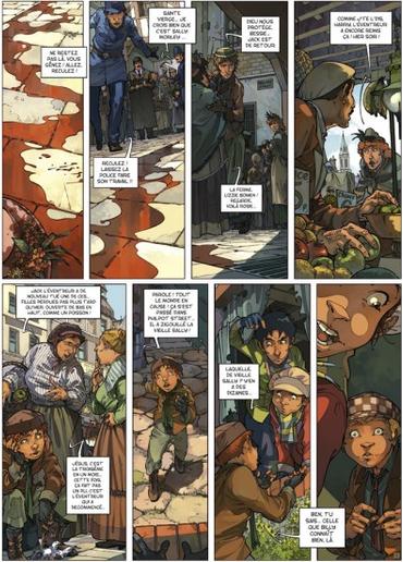 Les Quatre de Baker Street – Tome 2. Djian, Etien et Legrand. 2010 (BD)