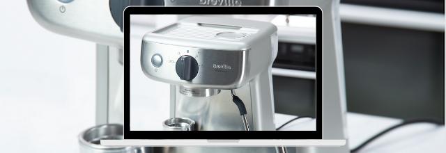 Saint-Valentin : Un cadeau pour tous les passionnés de café avec Breville !