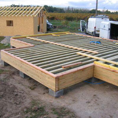 Fondations pour maison en Bois