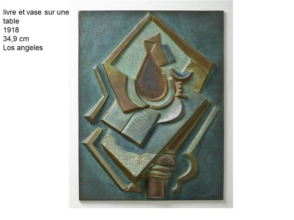quelques oeuvres de la séance sculpture cubiste à surréaliste (fiche de la séance ci dessous)