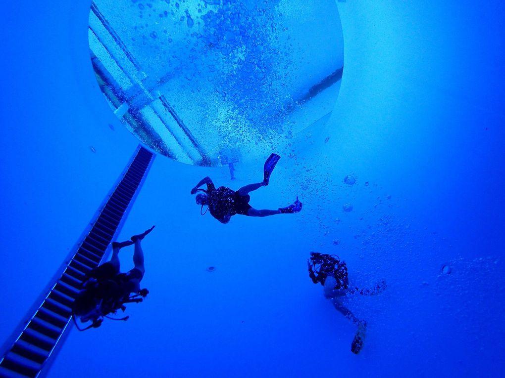 La douce accoutumance aux profondeiurs des mers, un plaisir qui s'apprend au CMOV Plongée - Photos : © CMOV Plongée et Sports Vénissians