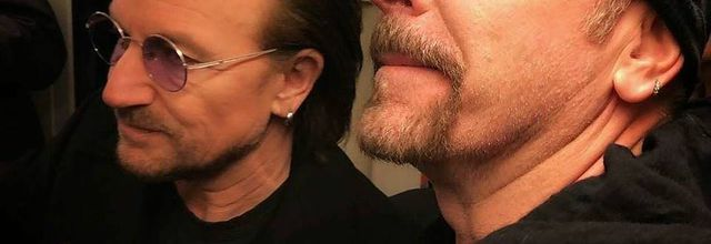 Bono & The Edge -Berlin -Allemagne 06-12-2017