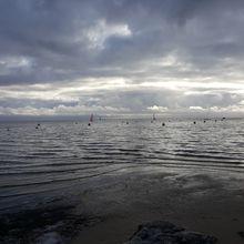 Ciels noirs de décembre 2019, sur le Bassin d'Arcachon...