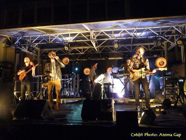 City Kay en concert à Gap