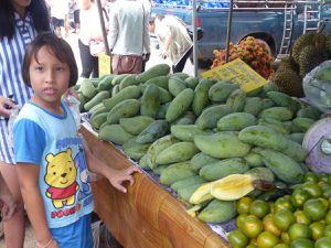 """Le """"Festival des Fruits"""" à Rayong"""