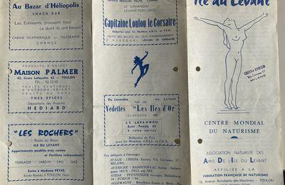 Vers 1958, la plaquette d'information de l'ADIL