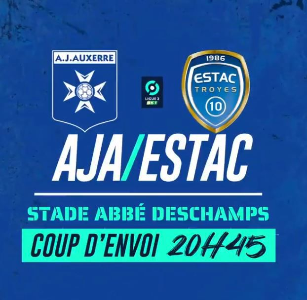 AJ Auxerre / ESTAC Troyes (Ligue 2) en direct ce lundi sur beIN SPORTS !