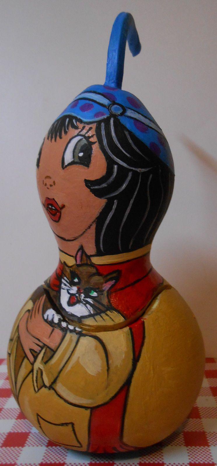 """N° 23 Poupée Russe - """"L'accordéoniste et son chat"""""""