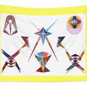 Veneration Tapestry for Sale by Michael Bellon