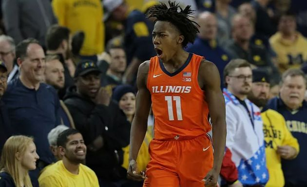 NCAA : Ayo Dosunmu détruit la défense du Michigan avec 27 points dont le Game winner