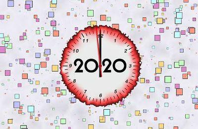 """Vibrations numérologiques et tarologiques de l'année 2020 """"vingt"""" au cru exceptionnel année miroir"""