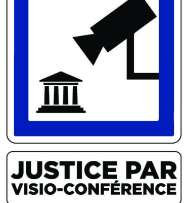 Pas de justice d'exception pour les exilé.e.s! NON aux audiences en visioconférence au CRA de Rennes!