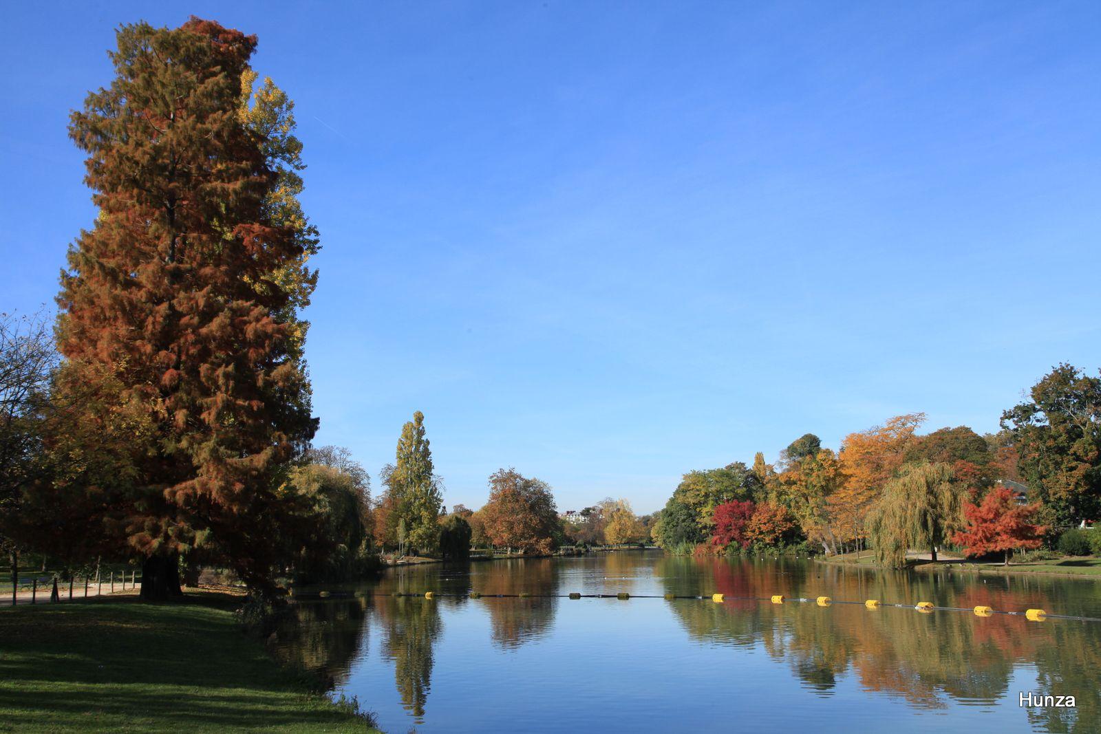 Bois de Vincennes : le lac Daumesnil