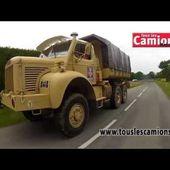 Camions de collection : Les Berliet Gazelle dans le Puy-de-Dôme