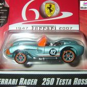FERRARI 250 TESTAROSSA CABRIOLET HOT WHEELS 1/64 - car-collector.net