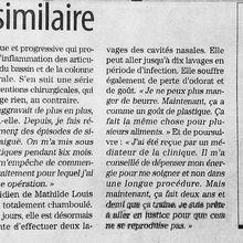 Témoignage de Mathilde Louis victime du SNV