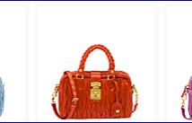 Miu Miu collezione borse e scarpe  2012 2013: bauletti color