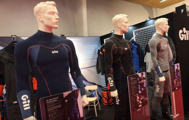 Nouveau chez Gill, des vêtements néoprène pour la voile légère et les sports de glisse