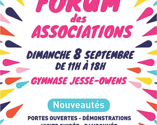 FORUM DES ASSOCIATIONS - 8 SEPTEMBRE 2019