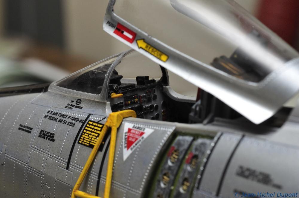 Maquette du F-100D