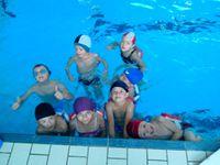 Apprentissage de la natation à la piscine d'Ambert (septembre et octobre, classes GS, CP et CE1)