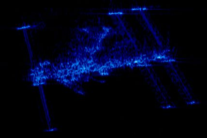Le satellite radar Terrasar-X observe la station spatiale internationale