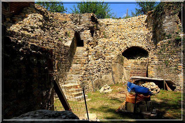 Diaporama château et fortifications de Nozeroy
