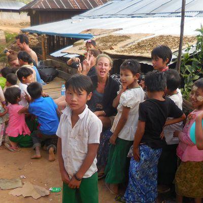 Aventure dans l'État Chan, Nord-Est du Myanmar