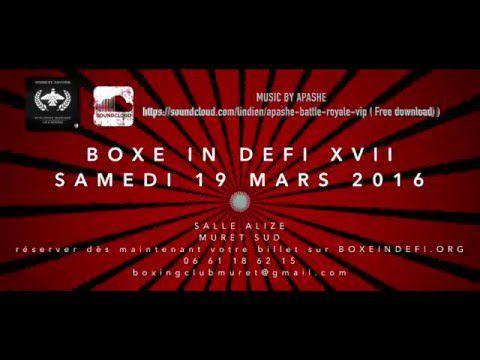 Teaser  BOXE IN DEFI XVII
