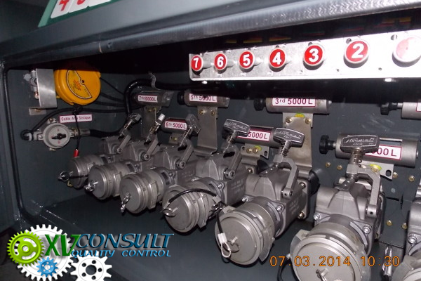 1/ Fuel Semi Trailers China - 45000 L -7 compartments - (15 Units) Manufacturing - Quality Control - Part 4/5 - زيت الوقود شبه المقطورة في الصين