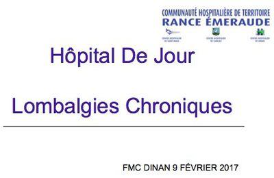 Hôpital De Jourà DINAN : prise en charge des Lombalgies Chroniques