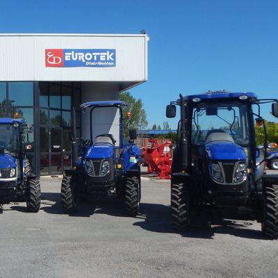 Les tracteurs LOVOL par EUROTEK