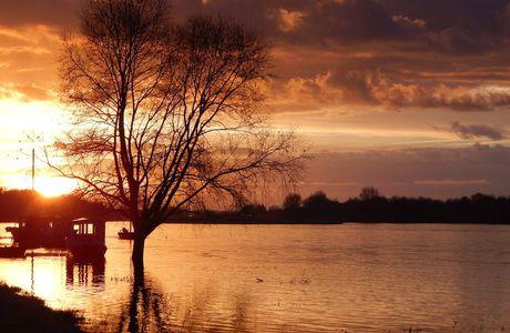 quand la Loire s'endort...