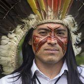 Un Indien d'Amazonie au sommet du Ben Nevis