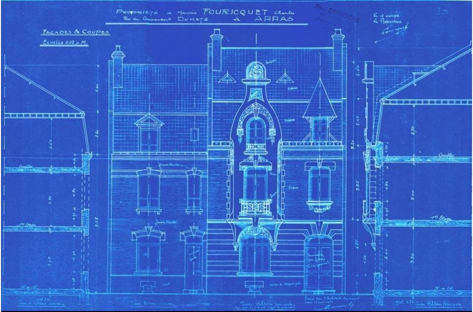 63 rue du Commandant-Dumetz. Paul Davrinche, architecte, 1923.