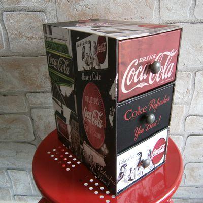 Boite cartonné Coca-Cola