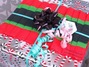 Paquets - Cadeaux - Originaux - Tag - Fait Main - 2019 - Noël - Crépon - Noeud - Nature - Homme - Femme